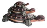 """Черепаха """"Три поколения"""" (дерево)"""