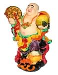 Веселый Хотэй с персиком (большой)