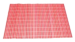 Циновка (30х45см, красная)
