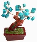 """Дерево счастья """"Бирюза"""" (10 см)"""