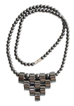 Гематитовое ожерелье