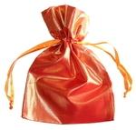 Мешочек блестящий (оранжевый)