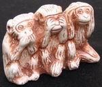 """Нэцкэ """"Три обезьяны"""""""
