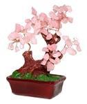 """Дерево счастья """"Розовый кварц"""" (16 см)"""