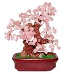"""Дерево счастья """"Розовый кварц"""" (20 см)"""