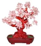 """Дерево счастья """"Розовый кварц"""" (27 см)"""