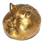Денежная свинья (бронза)