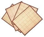 Набор из 4 циновок (31х40см)