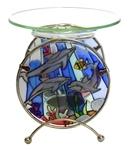 """Аромалампа из стекла """"Подводный мир"""""""