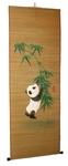 """Панно из бамбука """"Панда"""""""