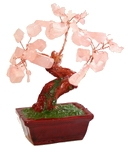 """Дерево счастья """"Розовый кварц"""" (10 см)"""