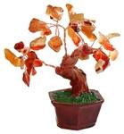 """Дерево счастья """"Сердолик"""" (10 см)"""