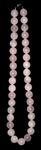 Бусы из розового кварца (круг. 12мм)