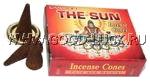 """Индийское кон. благовоние """"The Sun"""" (солнце)"""