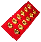 12 золотых слитков