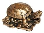 Черепаха на деньгах (средняя)