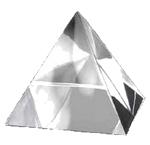 Хрустальная пирамида 8 см