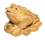 "Нэцкэ ""Трехлапая жаба"" (дер.)"