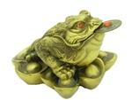 Трехлапая жаба (бронза)