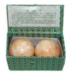 Китайские шарики здоровья из оникса 5.5 см