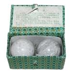 Китайские шарики здоровья из мрамора 5.5 см