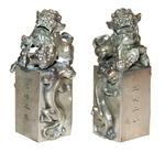 Небесные львы Будды (печати)