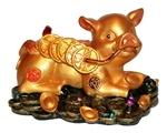 Свинья на деньгах (с монетами)