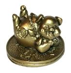 Свинка на монетах счастья (5)