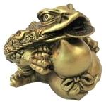 Трехлапая жаба с тыквой холу