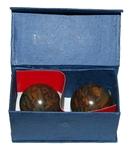 Китайские шарики здоровья из яшмы 5 см