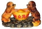 Собаки с золотым слитком (цветные)