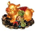 Свинья на деньгах (с жезлом Жуи)