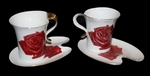 """Чайный набор """"Для двоих"""" (розы)"""