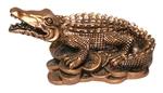 Крокодил на монетах (мал.)