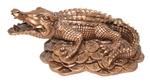 Крокодил на монетах (бол.)