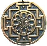 """Буддийский символ """"Рад фон Амитаби"""""""