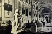 скульптура, картина, здание, женщина, ваза, стул