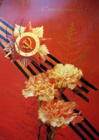 цветок, лента, орден, гвоздика, веточка, букет
