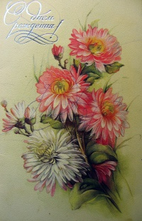 цветок, букет, листок, бутон