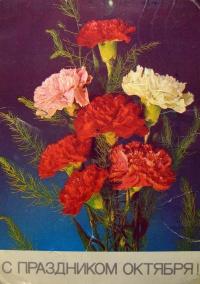 цветок, веточка, гвоздика, букет, листок