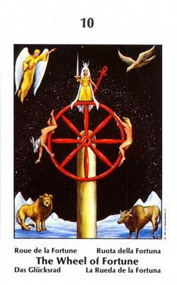 The Wheel of Fortune - Roue de la Fortune - Das Glücksrad - Ruota della Fortuna - La Rueda de la Fortuna