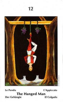 The Hanged Man - Le Pendu - Der Gehängte - L'Appiccato - El Colgado