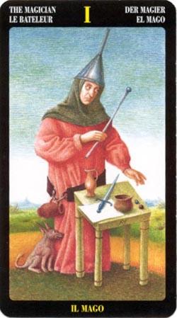 The Magician - La Bateleur - Der Magier - Il Mago - El Mago