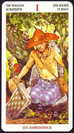 The Magician - La Bateleur - Der Magier - El Mago - Lug Samildanach