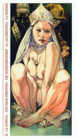 La Papessa - The High Priestess - Die Hohepriesterin - La Sacerdotisa - La Papesse