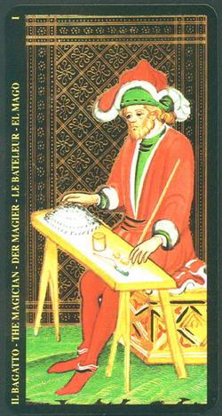 Il Bagatto - The Magician - Der Magier - La Bateleur - El Mago