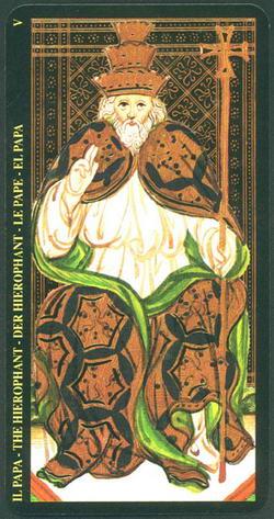 Il Papa - The Hierophant - Der Hierophant - Le Pape - El Papa