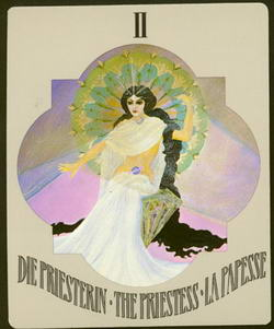 Die Priesterin - The Priestess - La Papesse
