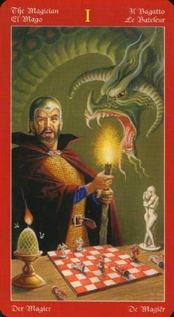 The Magician - El Mago - Il Bagatto - Le Bateleur - Der Magier - De Magier