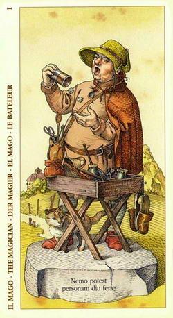 Il Mago - The Magician - Der Magier - El Mago - La Bateleur